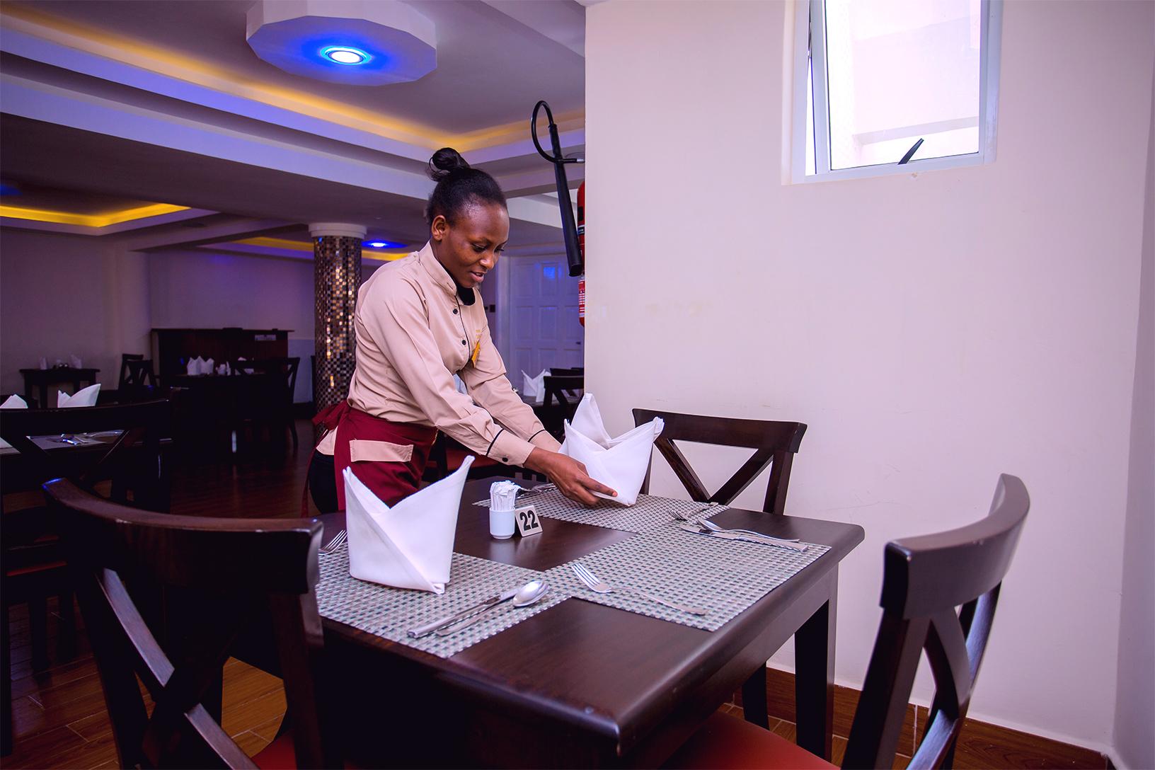 Hotel San Marino Kitui Waitress