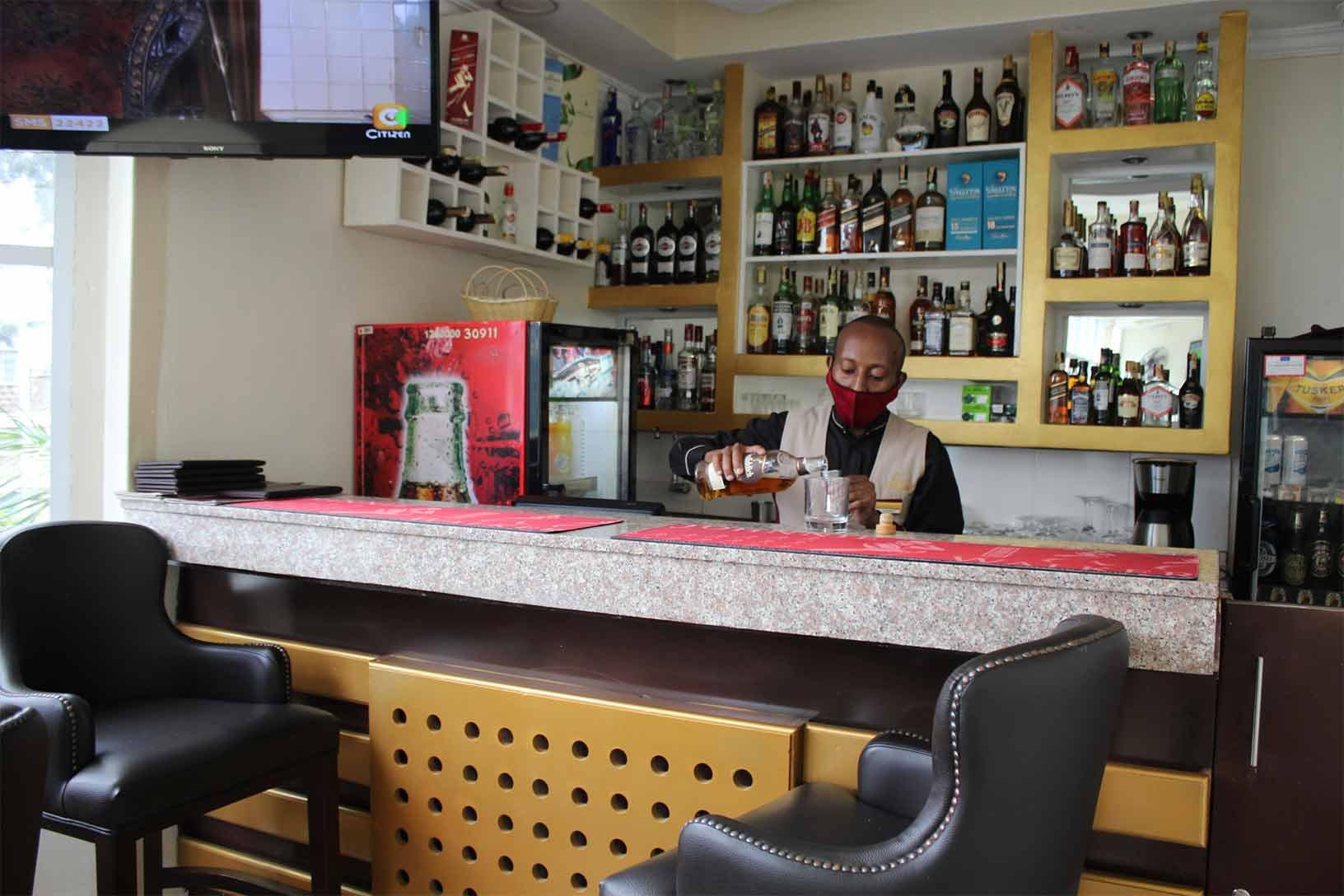 Kitindo Terrace Bartender