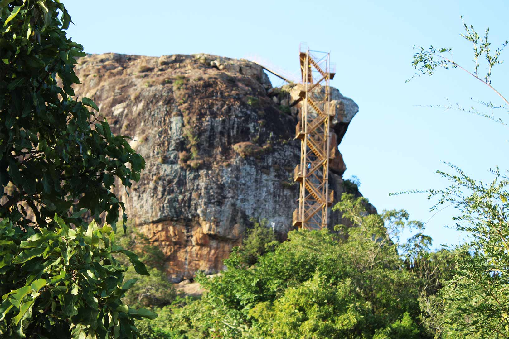 Nzambani Rock Stepss